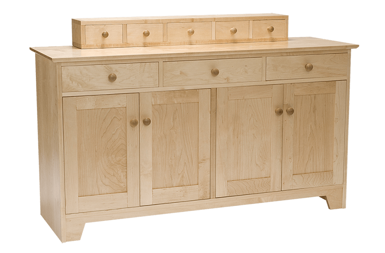 southern joinery shaker sideboard with dresser box. Black Bedroom Furniture Sets. Home Design Ideas